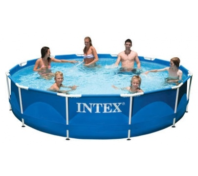 Бассейн 366х76 см, Metal Frame, Intex (SUN) 28210/56994 купить в Минске. +375 (29) 399-08-81