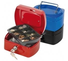 Бокс для денег металлический 155х112х75мм синий, красный черный (СМ) купить в Минске. +375 (29) 399-08-81