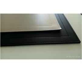 Бювар 6141 см натуральная кожа, черный
